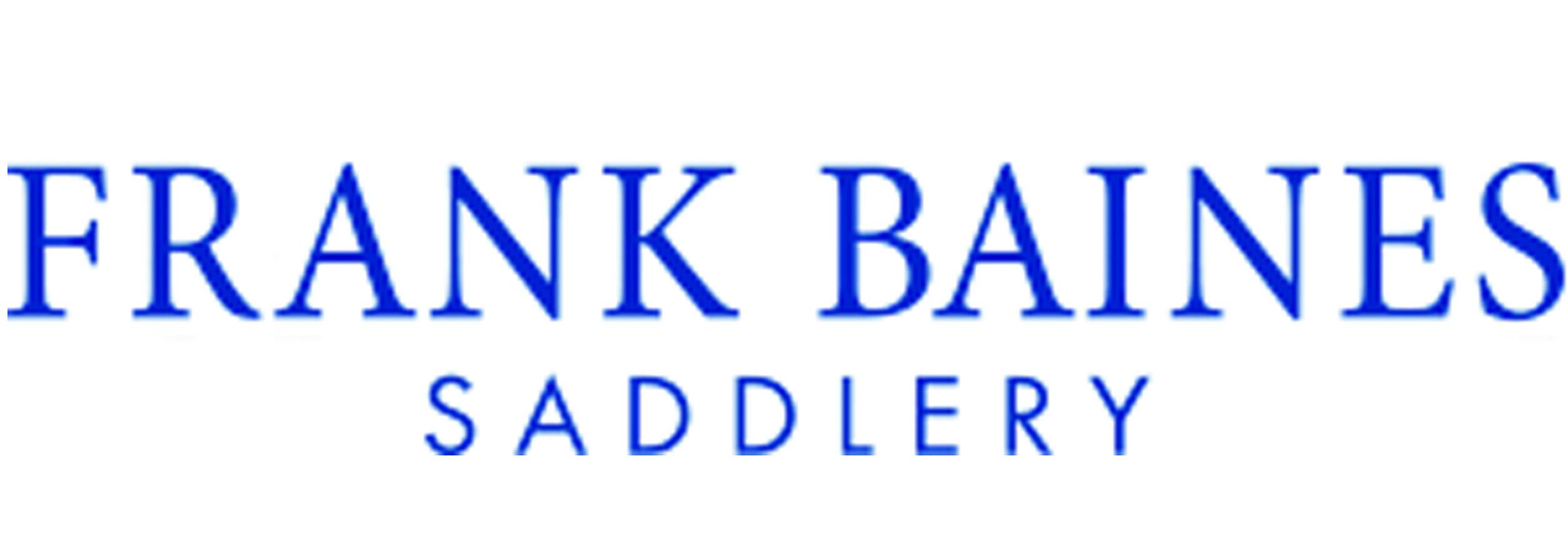 Logo Frank Baines saddles